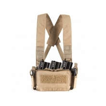 Big Foot D3CRM Chest Rig Vest (with Three Magazine Pouch - Tan)