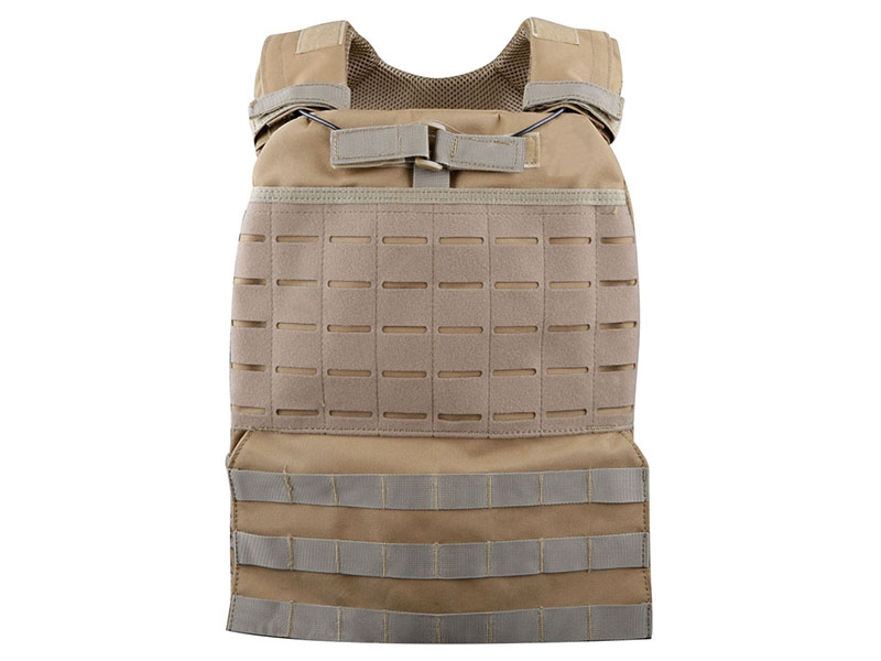 Big Foot Laser Cut Plate Carrier Vest (Tan)
