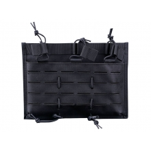 Big Foot 5.56 Laser Cut Magazine Triple-Pouch (Black)