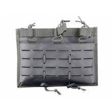 Big Foot 5.56 Laser Cut Magazine Triple-Pouch (Urban Grey)