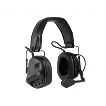 Big Foot Fifth Generation Sound Pickup and Noise Reduction Headset Simulator (Gen. 5 - Black)