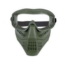 Big Foot Lower Vented Full Face Mask (Clear Lens - OD)