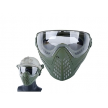 Big Foot Piloteer Vented Full Face Mask (Clear Lens - OD)
