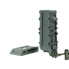 Big Foot 9mm Magazine Pouch (Polymer - Adjustable Elasticated Retention - OD)