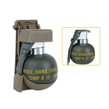 Big Foot M67 Dummy Grenade with Tan Molle Set