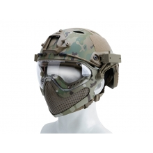 Big Foot Pilot helmet(Steel mesh version) L size (CP)