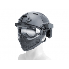 Big Foot Pilot helmet(Steel mesh version) L size (G)