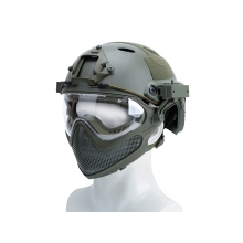 Big Foot Pilot helmet(Steel mesh version) L size (OD)
