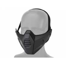 Big Foot tactical multidimensional split mask (Black)