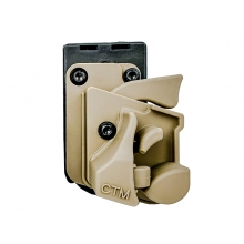 CTM Holster for Action Army AAP01 Pistol (Lightweight Nylon - Tan - CTM-APH-DE)