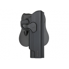Amomax ROT360 Series Holster for Series 1911 Pistol (Polymer - Right - Black)