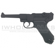 Huntex P08 Co2 Air Pistol (4.5mm - Black - Full Metal)