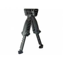 Tactical Extendable Bipod and Foregrip (Black)